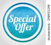 shopping icon design  vector... | Shutterstock .eps vector #298921298