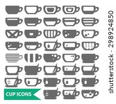illustration of some cups ...