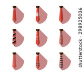 illustration of some ties ... | Shutterstock .eps vector #298925036