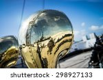 A Brass Vent On A Tall Ship At...