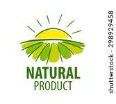 Vector Logo Landscape Field An...
