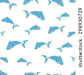 abstract fish pattern   Shutterstock .eps vector #298930739