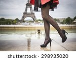 Romantic Girl Legs In Healed...