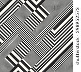 abstract intricately striped... | Shutterstock .eps vector #298952573