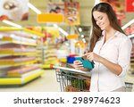coupon  supermarket  groceries. | Shutterstock . vector #298974623