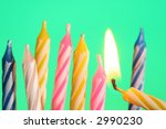 candle f | Shutterstock . vector #2990230