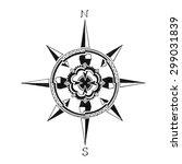 compass rose design that... | Shutterstock . vector #299031839