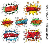 Comic Speech Bubble Set