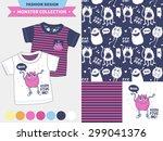 vector fashion design set for... | Shutterstock .eps vector #299041376