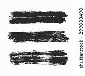 grunge background   black and... | Shutterstock .eps vector #299083490