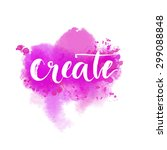create   inspiration word at... | Shutterstock . vector #299088848