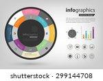 report update progress and... | Shutterstock .eps vector #299144708