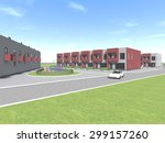 housing architecture building | Shutterstock . vector #299157260