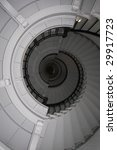 Spiral Staircase In Lighthouse