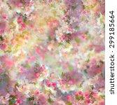 spring cherry blossom...   Shutterstock . vector #299185664