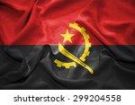 angola flag. illustration | Shutterstock . vector #299204558
