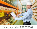 quality control  engineer ... | Shutterstock . vector #299239064