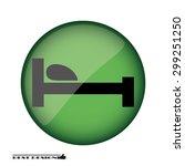 bed | Shutterstock .eps vector #299251250