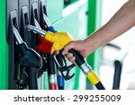 fuel  pump  gas. | Shutterstock . vector #299255009