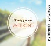 "inspirational sentence. ""hello... | Shutterstock .eps vector #299255993"