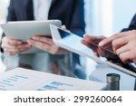 closeup  human  review. | Shutterstock . vector #299260064