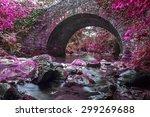 Stone Bridge With A River...