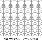 seamless black and white... | Shutterstock .eps vector #299272400