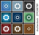gears | Shutterstock .eps vector #299288789