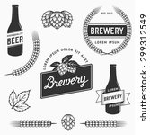 Set Of Brewery Logos  Labels...