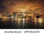Manhattan At Sunset  New York...