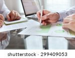 business monitoring | Shutterstock . vector #299409053