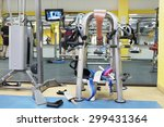 the image of a fitness hall | Shutterstock . vector #299431364