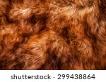 Fur  Red Brown Shade. Wolf Fox...