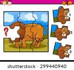 cartoon vector illustration of... | Shutterstock .eps vector #299440940