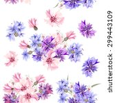 Floral Seamless Vector Pattern...