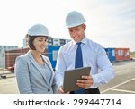 business  building  teamwork ... | Shutterstock . vector #299447714
