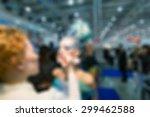 makeup and hair artists... | Shutterstock . vector #299462588
