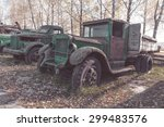 Old Rusty Truck   Vintage Photo