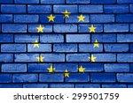 European Union Flag Painted On...