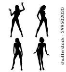 vector illustration of a four... | Shutterstock .eps vector #299502020
