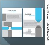modern elegant line brochure  ...