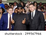 channing tatum  ice cube and... | Shutterstock . vector #299567966