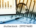 business accounting  | Shutterstock . vector #299574680