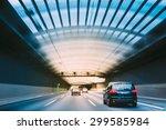 Speeding Cars Inside A Highway...