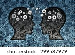 training neuroscience... | Shutterstock . vector #299587979