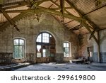 Abandoned Railway Station With...