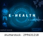 healthcare innovation | Shutterstock . vector #299631218