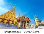 wat phra kaew   the temple of... | Shutterstock . vector #299643296