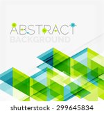 abstract geometric background.... | Shutterstock .eps vector #299645834