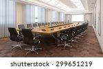 elegant business conference... | Shutterstock . vector #299651219